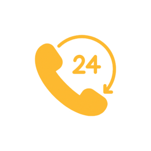 24 hour emergency callout icon