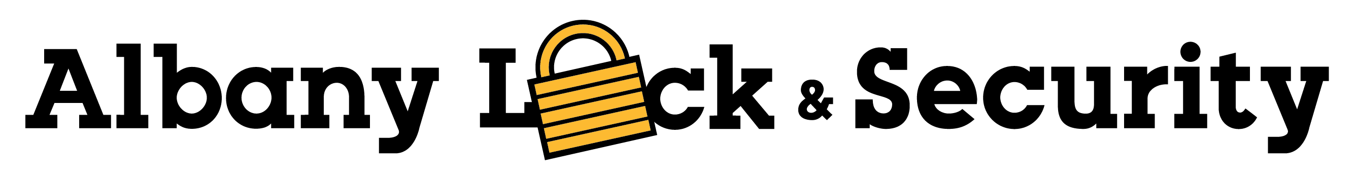 Albany Lock & Security - Longform Logo