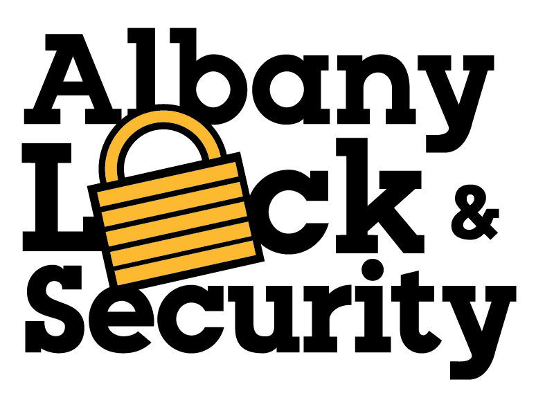 Albany Lock & Security Block Logo