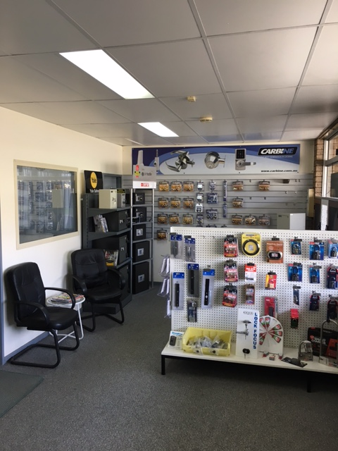 Albany Lock & security showroom
