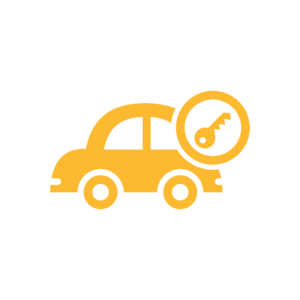 Automotive Lock Icon