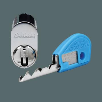Bi-lock keys