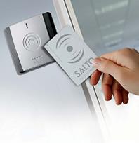 salto swipe card access